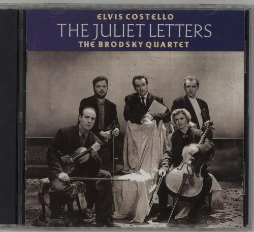 Elvis Costello The Juliet Letters 2 CD album set (Double CD) UK COS2CTH686469
