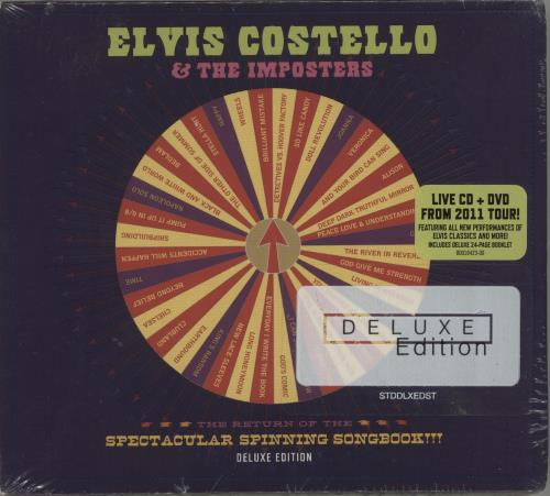 Elvis Costello The Return Of The Spectacular Spinning Songbook!!! 2-disc CD/DVD set US COS2DTH686429