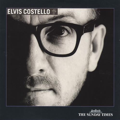 Elvis Costello The Sunday Times CD album (CDLP) UK COSCDTH225874