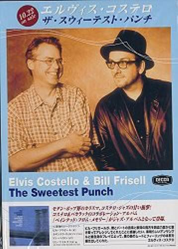 Elvis Costello The Sweetest Punch display Japanese COSDITH160697