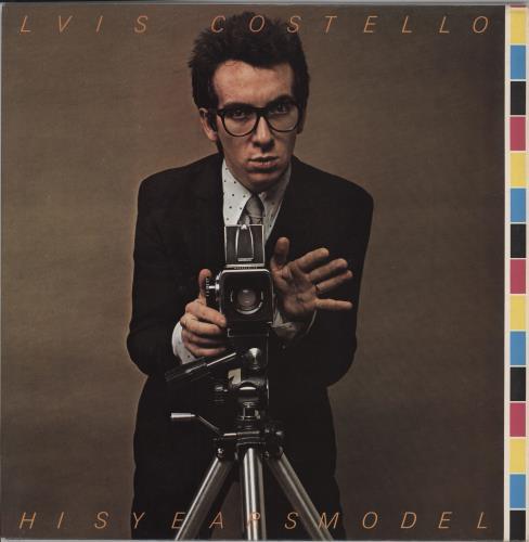 Elvis Costello This Year's Model + Facsimile Signed Photograph vinyl LP album (LP record) UK COSLPTH564257