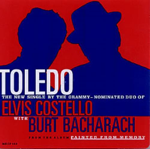 "Elvis Costello Toledo CD single (CD5 / 5"") US COSC5TO132356"