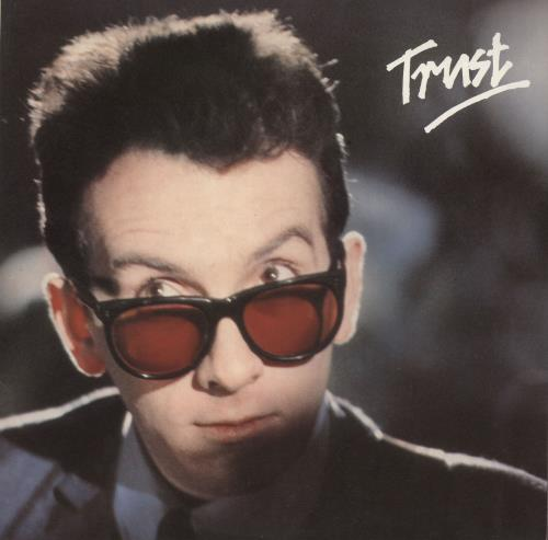 Elvis Costello Trust vinyl LP album (LP record) German COSLPTR561918