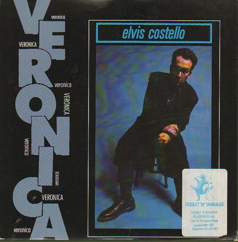 "Elvis Costello Veronica 7"" vinyl single (7 inch record) UK COS07VE659815"
