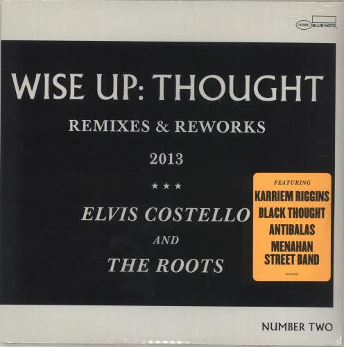 """Elvis Costello Wise Up: Thought - Sealed 10"""" vinyl single (10"""" record) US COS10WI686218"""