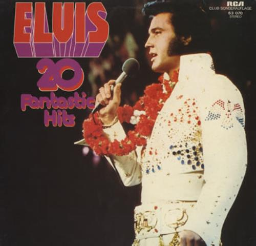 Elvis Presley 20 Fantastic Hits vinyl LP album (LP record) German ELVLPFA377175