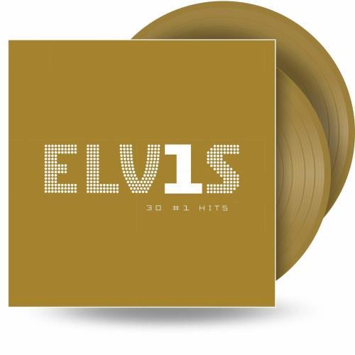 Elvis Presley 30 #1 Hits - Gold - Sealed 2-LP vinyl record set (Double Album) UK ELV2LHI706209
