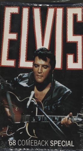 Elvis Presley 68 Comeback Special - Sealed video (VHS or PAL or NTSC) German ELVVICO766845