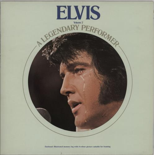 Elvis Presley A Legendary Performer Volume 2 - EX vinyl LP album (LP record) UK ELVLPAL757299