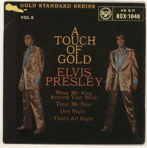 """Elvis Presley A Touch Of Gold Vol. 2 - 2nd 7"""" vinyl single (7 inch record) UK ELV07AT93284"""