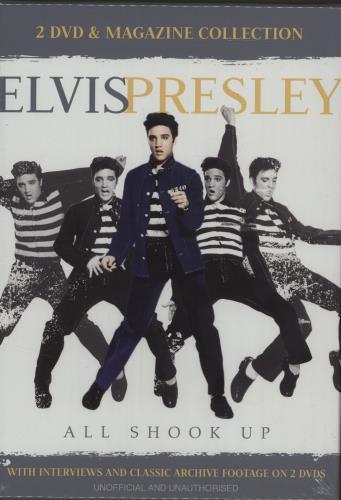 Elvis Presley All Shook Up DVD UK ELVDDAL682595