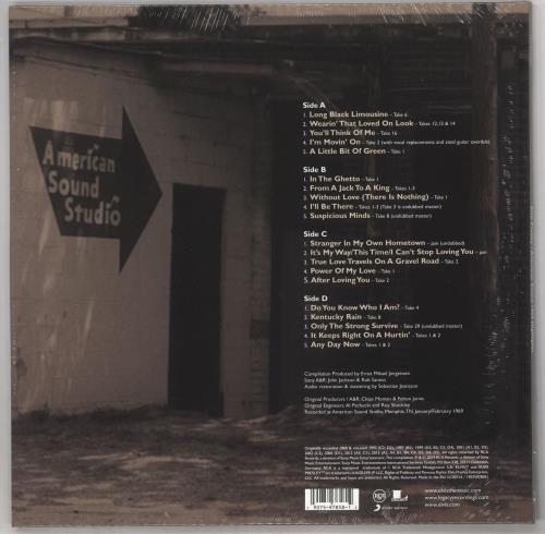 Elvis Presley American Sound 1969 Highlights - RSD BF19 - Sealed 2-LP vinyl record set (Double Album) UK ELV2LAM734522