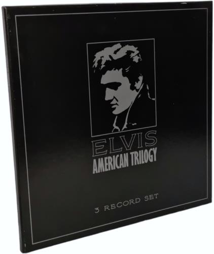 Elvis Presley American Trilogy box set UK ELVBXAM249078