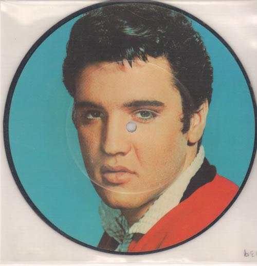 "Elvis Presley Baby I Don't Care 7"" vinyl picture disc 7 inch picture disc single UK ELV7PBA92791"
