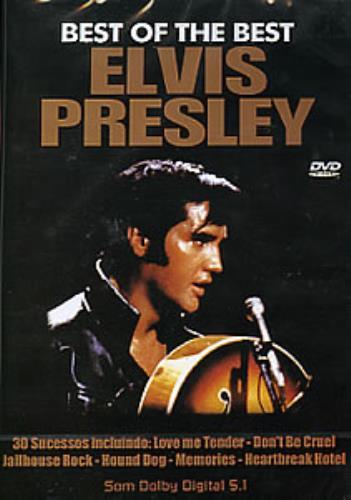 Elvis Presley Best Of The Best DVD Korean ELVDDBE283823