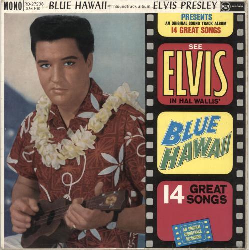 Elvis Presley Blue Hawaii - 1st - EX vinyl LP album (LP record) UK ELVLPBL729718