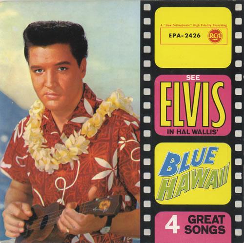 Elvis Presley Blue Hawaii Ep German 7 Quot Vinyl Single 7