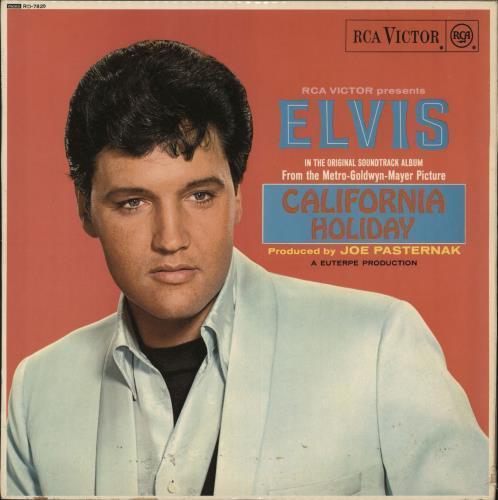 Elvis Presley California Holiday - 1st vinyl LP album (LP record) UK ELVLPCA139180