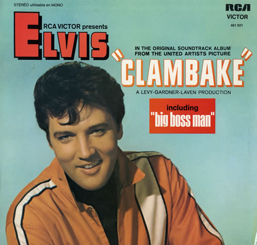 Elvis Presley Clambake vinyl LP album (LP record) French ELVLPCL560639