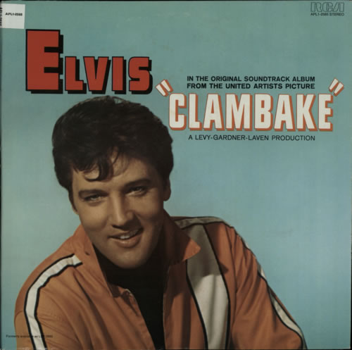 Elvis Presley Clambake vinyl LP album (LP record) US ELVLPCL609289