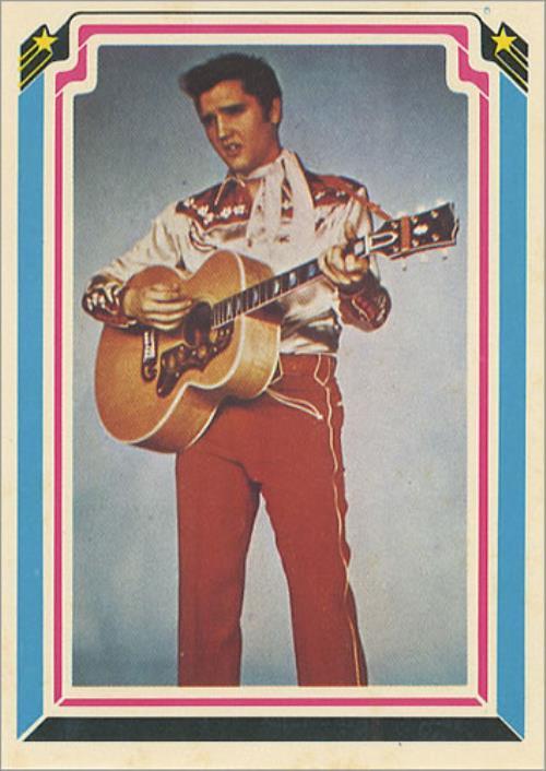 Elvis Presley Complete Set Of Bubblegum Cards memorabilia US ELVMMCO404699