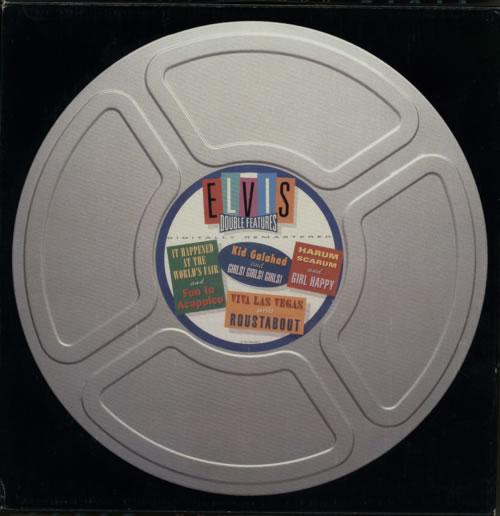 Elvis Presley Double Features CD Album Box Set German ELVDXDO155383