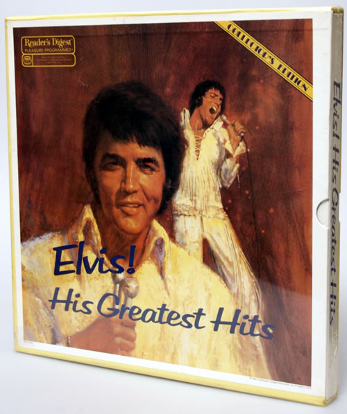 Elvis Presley Elvis His Greatest Hits Us Box Set 558449