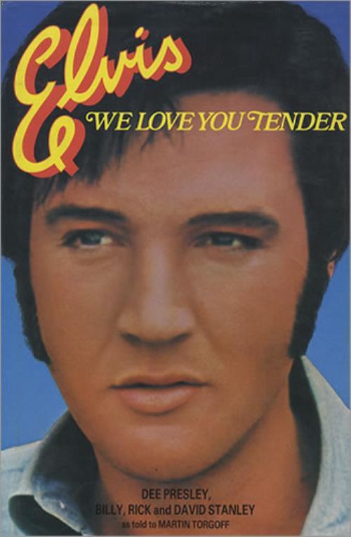 Elvis Presley Elvis - We Love You Tender book UK ELVBKEL244433