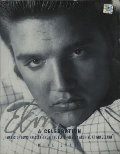 Elvis Presley Elvis A Celebration book UK ELVBKEL678524