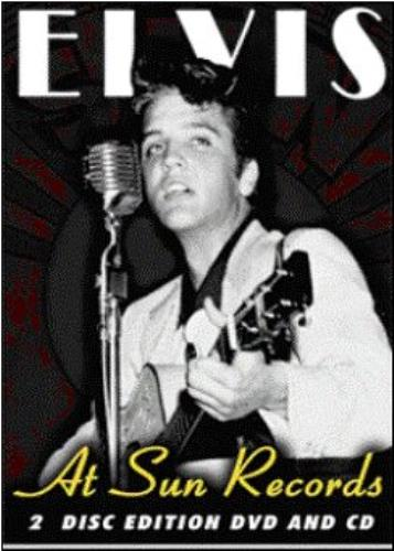 Elvis Presley Elvis At Sun Records Uk 2 Disc Cd Dvd Set