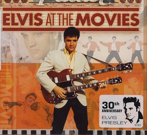 Elvis Presley Elvis At The Movies Australian 2 Cd Album