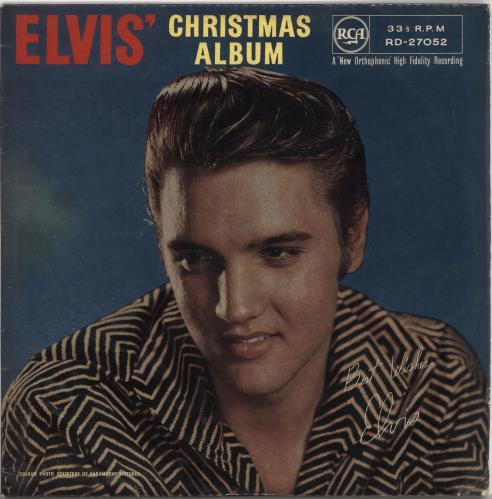 Elvis Presley Elvis' Christmas Album - 2nd - EX vinyl LP album (LP record) UK ELVLPEL210168