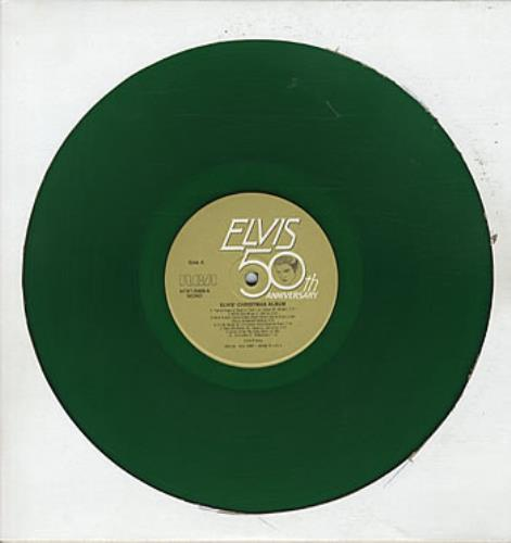 Elvis Presley Elvis' Christmas Album - Green Vinyl vinyl LP album (LP record) US ELVLPEL324552