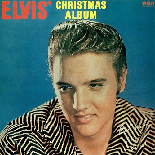 Elvis Christmas Album.Elvis Presley Elvis Christmas Album Uk Vinyl Lp Album Lp Record