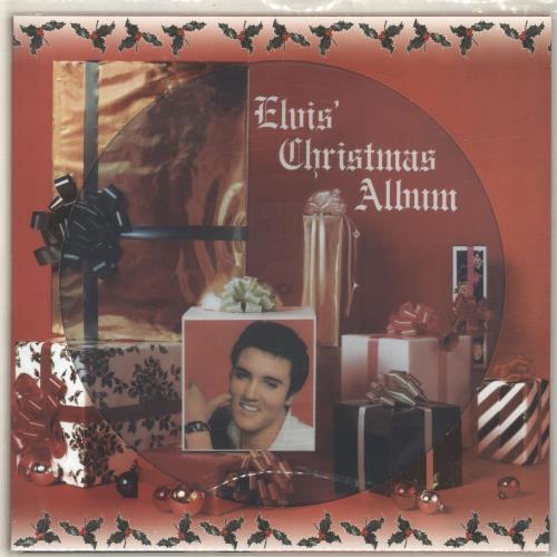 Elvis Presley Elvis Christmas Album.Elvis Presley Elvis Christmas Album Uk Picture Disc Lp