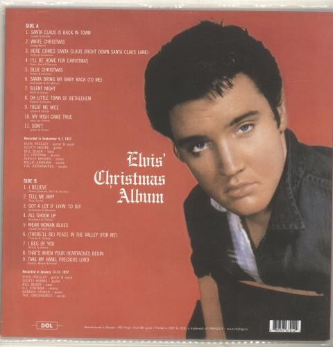 Elvis Christmas Album Vinyl.Elvis Presley Elvis Christmas Album Uk Picture Disc Lp