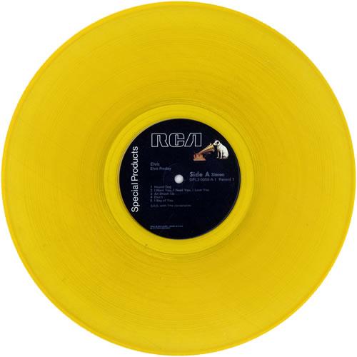 Elvis Presley Elvis Commemorative Album Gold Vinyl Uk 2