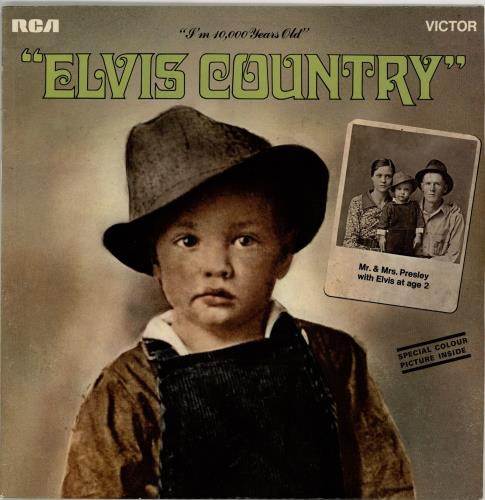 Elvis Presley Elvis Country vinyl LP album (LP record) UK ELVLPEL273613