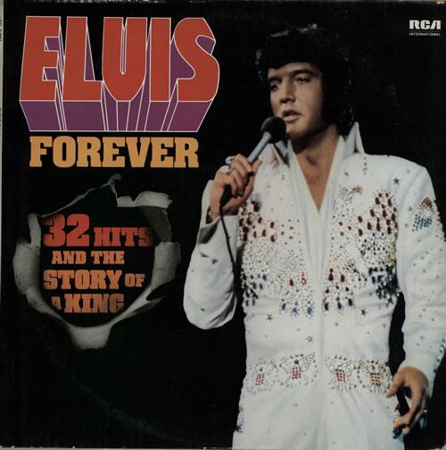 Elvis Presley Elvis Forever 2-LP vinyl record set (Double Album) French ELV2LEL572447