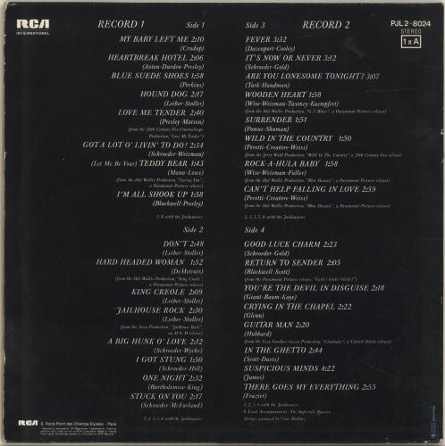 Elvis Presley Elvis Forever 2-LP vinyl record set (Double Album) French ELV2LEL693830