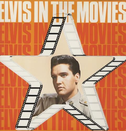 Elvis Presley Elvis In The Movies vinyl LP album (LP record) UK ELVLPEL375037