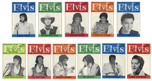 Elvis Presley Elvis Monthly - 19th Year magazine UK ELVMAEL418055