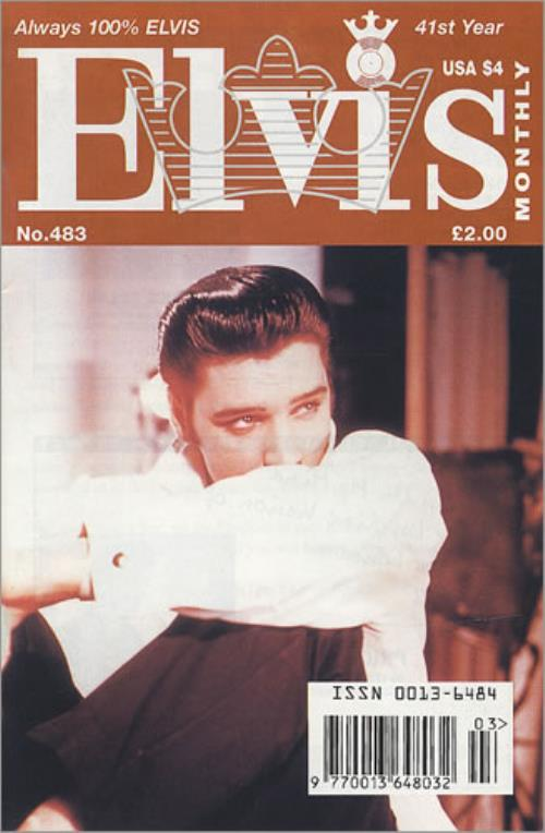 Elvis Presley Elvis Monthly - 41st Year magazine UK ELVMAEL418101