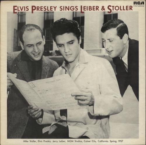 Elvis Presley Elvis Presley Sings Lieber & Stoller vinyl LP album (LP record) UK ELVLPEL279277