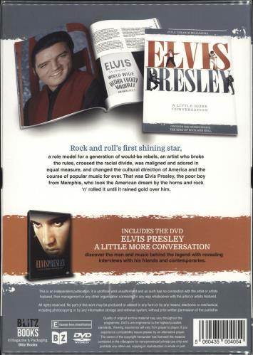 Elvis Presley Elvis Presley: A Little More Conversation + Magazine - Sealed DVD UK ELVDDEL710514
