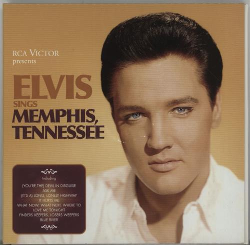 Elvis Presley Elvis Sings Memphis, Tennessee 2 CD album set (Double CD) Danish ELV2CEL688740