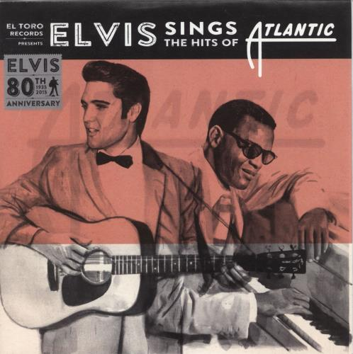 "Elvis Presley Elvis Sings The Hits Of Atlantic 7"" vinyl single (7 inch record) Spanish ELV07EL723185"