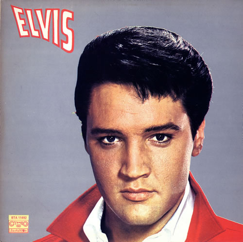 Elvis Presley Elvis vinyl LP album (LP record) Bulgarian ELVLPEL475040