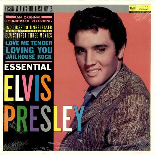 Elvis Presley Essential Elvis Us Vinyl Lp Album Lp Record
