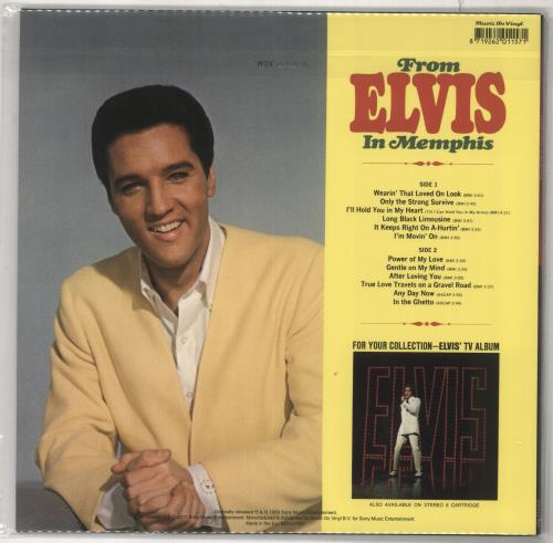 Elvis Presley From Elvis In Memphis - 180gm Yellow Vinyl - Sealed vinyl LP album (LP record) UK ELVLPFR731961
